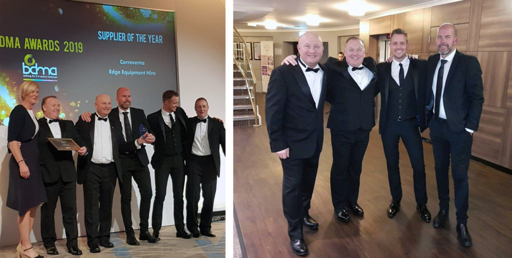 corrovent ltd won supplier of the year award